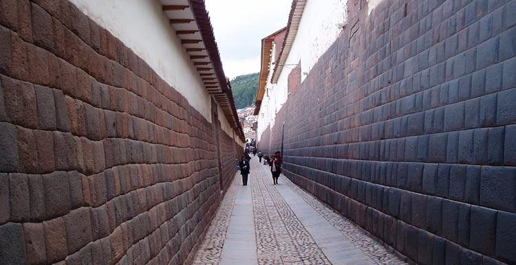 Calle Loreto en Cusco