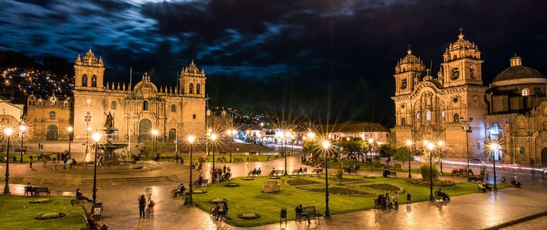 plaza ciudad del cusco